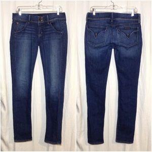 Women's Size 29 Hudson Collin Flap Skinny Jeans